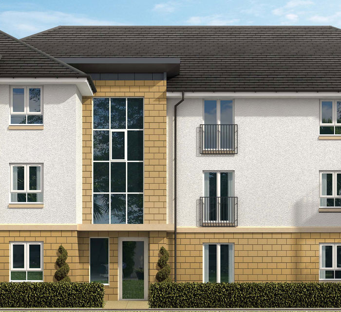 The Rannoch Flats, Fairmilehead   'The Kingsknowe' (Plot 220)
