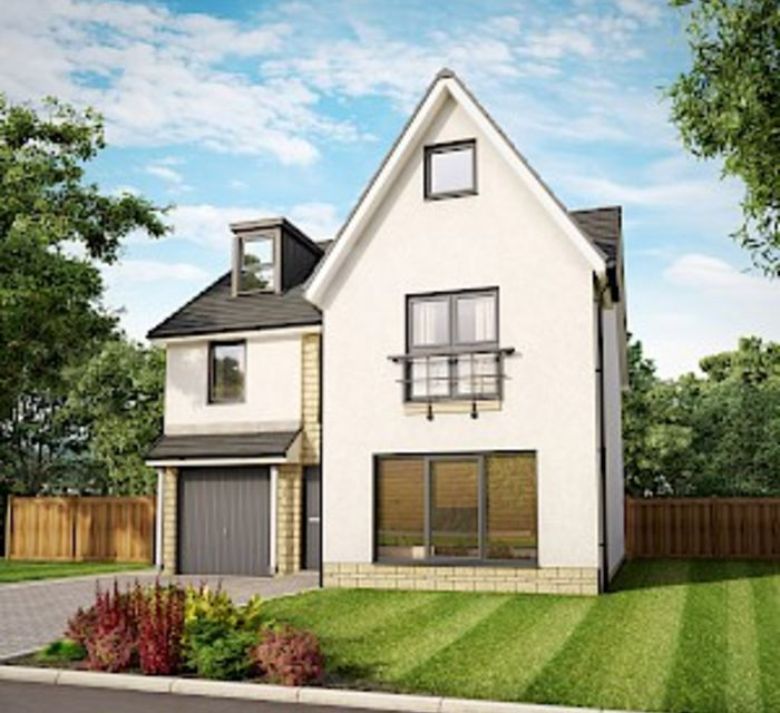 Dovecot Grange, Haddington by Robertson Homes - Willow Grand Plot 48